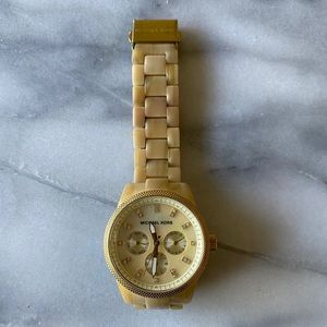 Michael Kors | Horn Jet Set Chronograph Watch